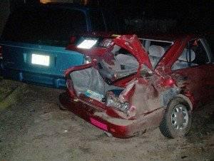Car Crash by DWI driver