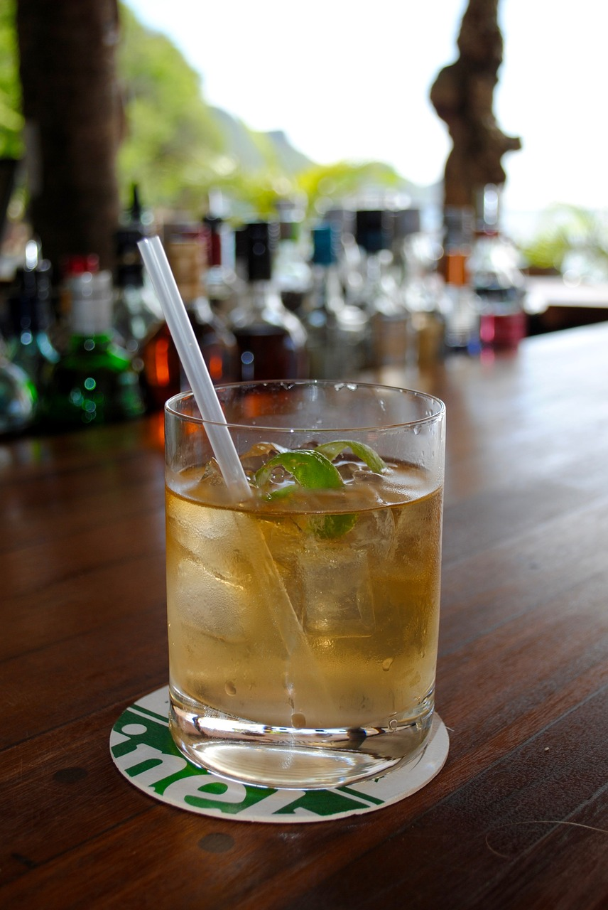 bad hangover drinks - dark rum
