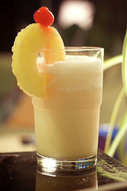 bad hangover drinks - pina colada